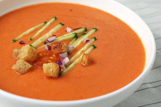 Receta de gazpacho y salmorejo